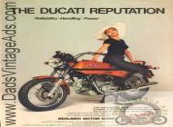 1975 Ducati Brochure