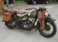 1942 Harley Davidson 750 WLA