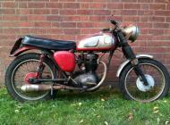 1963 BSA B40