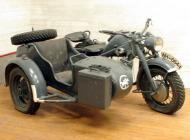1943 Zundapp KS750 Military Combination