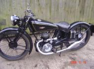 James 1931 twin exhaust two stroke