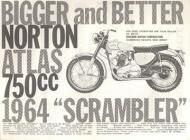 1964 Norton Atlas Scrambler Ad