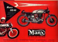 1957 Norton Manx Ad