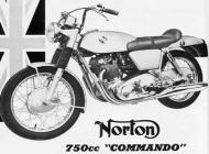 Norton 750cc Commando Ad