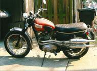 Triumph T100C