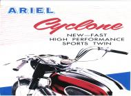 1958 Ariel Cyclone Advert
