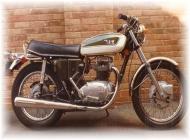 1972 BSA 650 Lightning