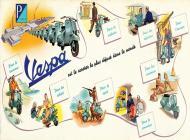 1949 Depliant Vespa France