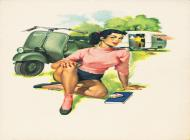 Calendario Vespa 1953