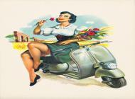 Calendario Vespa 1954
