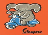 Poster Vespa Scarsi 1961