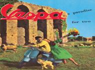 Vespa - a paradise for two - 1962