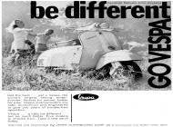 Be Different - Go Vespa (1968)