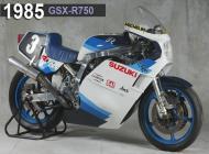 1985 Suzuki GSX-R750 Racing Bike
