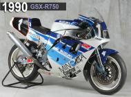 1990 Suzuki GSX-R750 Racing Bike