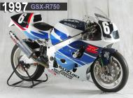 1997 Suzuki GSX-R750 Racing Bike