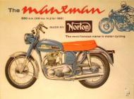 Norton Manxman 650 Advert
