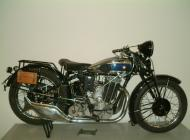 Vintage Moser Motorcycle