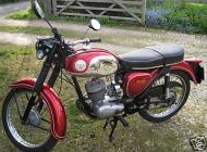 1972 BSA Bantam B175