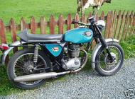 1969 BSA B25 Starfire