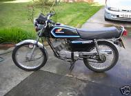 1987 Honda H100SG II