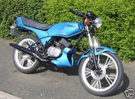 1986 Yamaha RD50MX