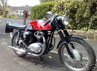 1964 BSA A65 Cafe Racer