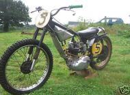 BSA C15S Elstar Grasstrack Bike