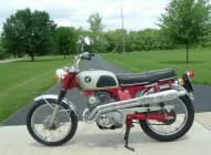 1968 Honda CL125A
