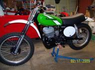 Kawasaki KX250 1975
