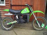 1982 Kawasaki KX250