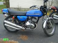 1973 Kawasaki S2a 350