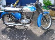 1970 BSA Bantam 175