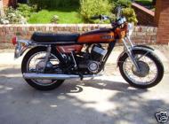 1972 Yamaha 350 YR5
