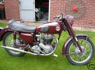 1955 Ariel 350 Red Hunter