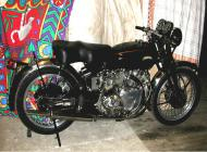 """Vincent HRD 1949 """"B"""" Rapide"""