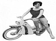 Peugeot BB104 moped