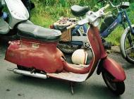 Triumph T10 scooter