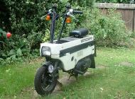 Honda Motocompo folding moped