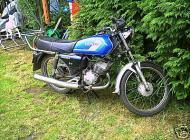 1986 Honda H100SD