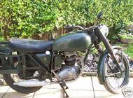 1967 BSA B40