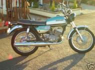 1972 Suzuki T250