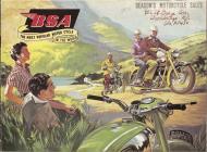 1956 BSA Sales Brochure