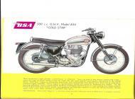 BSA B34 Gold Star sales brochure