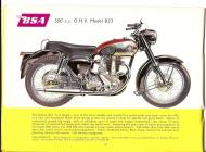 1956 BSA B33 sales brochure