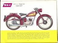 1956 BSA D1 Bantam sales brochure