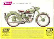 1956 BSA C10L sales brochure
