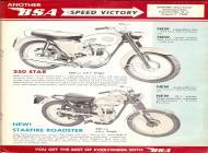 1961 BSA 250 Star sales brochure