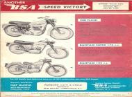 1961 BSA 500 Flash and Bantam sales brochure