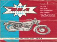 1962 BSA sales brochure